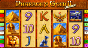 игра на аппарате  вулкан pharaoh's gold 2 deluxe